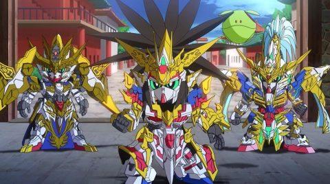 SD Gundam World Sangoku Souketsuden Episode 10 English Subbed